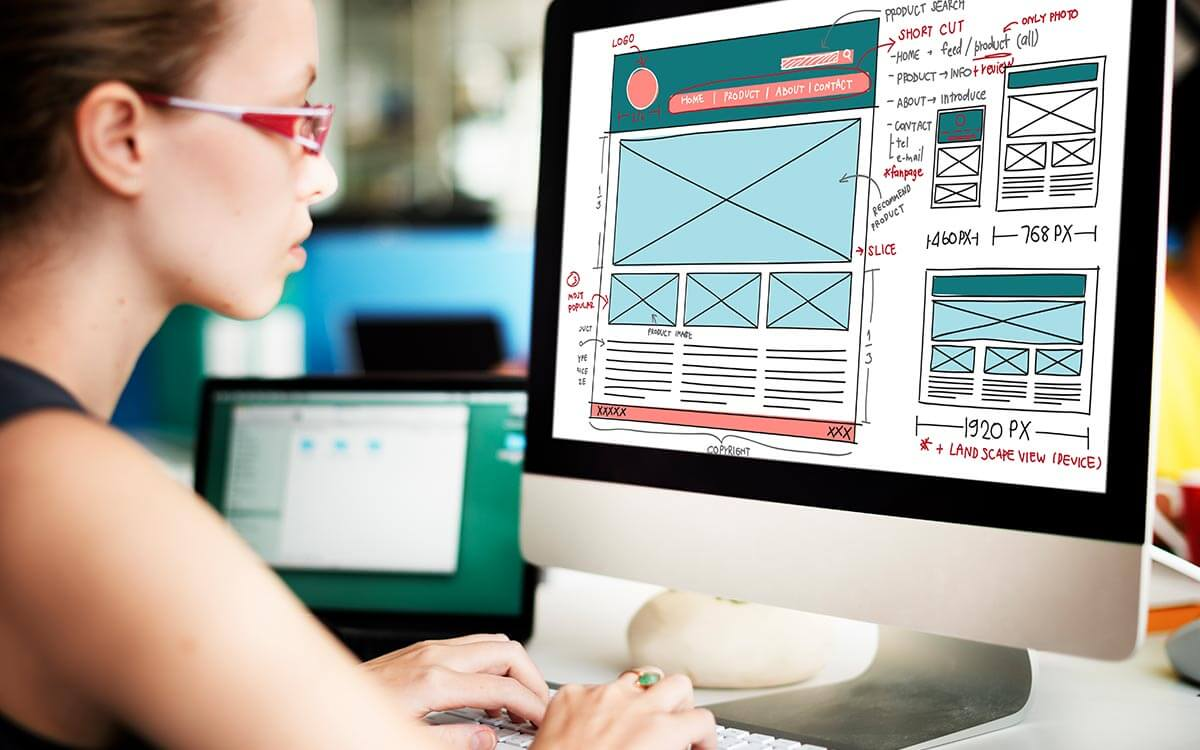 The anatomy of web page by MediaWorkx Creative Digital
