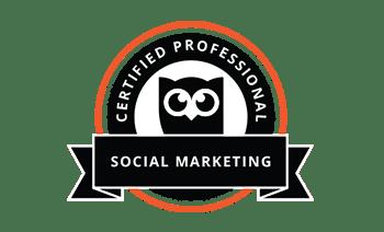 Social Marketing Certified