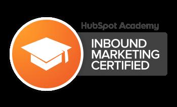 Inbound Marketing Certified - MediaWorkx Digital Agency